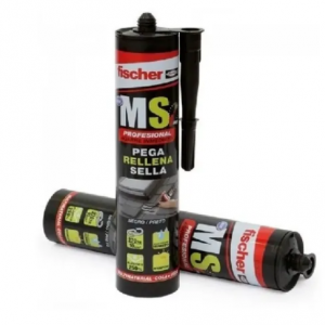 Sellador MS Express FISCHER  290 ml Negro